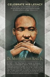 Dr. Martin Luther King, Jr. Exodus 3: 7, 10 (KJV) Bulletins, 100