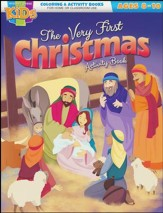 The Very First Christmas Activity Book--Ages 8 to 10