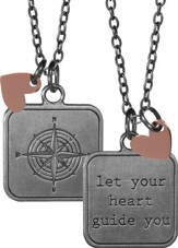 Let Your Heart Guide You, Charm Pendant