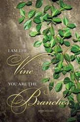 I Am the Vine (John 15:5) Bulletins, 100