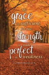 My Grace Is Sufficient (2 Corinthians 12:9, KJV) Bulletins, 100