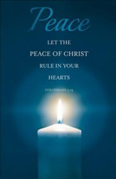 Peace (Colossians 3:15) Bulletins, 100