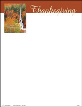 Before his Presence (Psalm 95:2, KJV) Letterhead, 100