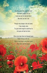 Amazing Grace Poppies Bulletins, 50