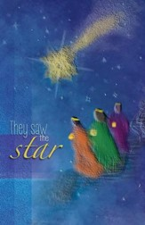They Saw the Star (Matthew 2:10) Bulletins, 100