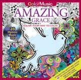 Amazing Grace - Color with Music