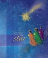 They Saw the Star (Matthew 2:10) Large Bulletins, 100