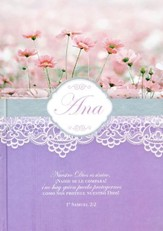 Diarios Mujeres de la Biblia: Ana  (Women of the Bible Journals: Hannah)
