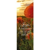 Yo soy la resureccion (Juan 11:25) Bookmarks, 25pk