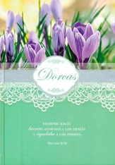 Diarios Mujeres de la Biblia: Dorcas  (Women of the Bible Journals: Dorcas)