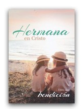 Hermana en Cristo, tarjeta (Salmos 138:8) Sister in Christ, card (Psalm 138:8)