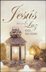 Jesús Es La Luz del Mundo, Juan 1:9, 100 Boletines  (Jesus Is The Light of the World, John 1:9, 100 Bulletins)