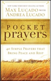Pocket Prayers: 40 Simple Prayers that Bring Peace and Rest, CBD Custom Edition
