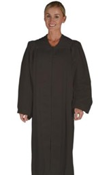 Traditional Choir Robe, Black, Medium