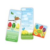 Red, Green, Yellow Too, Activity Bookmark with Stickers