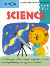 Science Sticker Activity Book, Grades Pre-K & Up