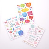 Stickers for Bible Journaling, 3  Sheets