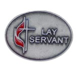 UMC Lay And Servant Lapel Pin