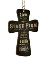 Stand Firm, Cross Car Charm