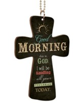 Good Morning, This Is God, Cross Car Charm