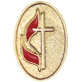 UMC Cross And Flame Pin