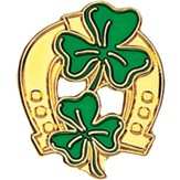 Irish Horseshoe Pin