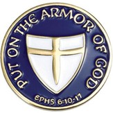 Put On Armor Pin