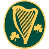 Irish Harp Pin