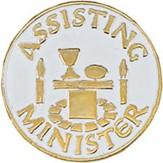 Assisting Minister Pin