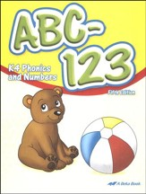 Abeka ABC-123: K4 Phonics and Numbers