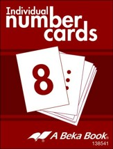 K4 Individual Number Cards (100 cards; 10 Student Sets)