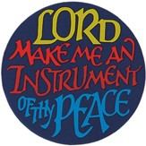 Instrument Thy Peace Magnet, Set of 4