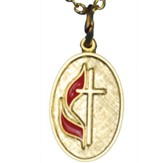 UMC Oval Pendant Necklace