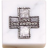 Paperweight, Love One Another Cross