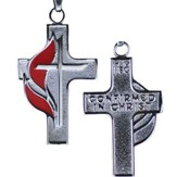 UMC Stainless Steel Confirmation Cross