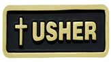 Latin Cross Usher Badge