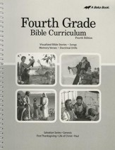 Abeka Grade 4 Bible Curriculum (Lesson Plans)