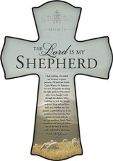 The Lord Is My Shepherd Cross, Small