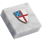 Paperweight, Episcopal Shield 2 X 2