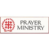 Prayer Ministry Badge 3 inch