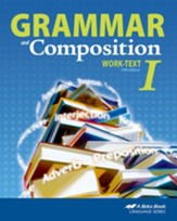 Abeka Grammar and Composition I Work-text
