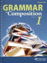 Abeka Grammar and Composition I Teacher Key
