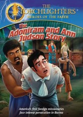 Torchlighters: The Adoniram and Ann Judson Story, DVD
