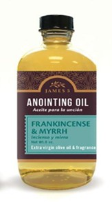 Anointing Oil, Frankincense and Myrrh (8 ounce) Refill
