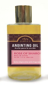 Anointing Oil, Rose of Sharon (3.5 ounce) Altar Size