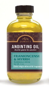 Anointing Oil, Frankincense and Myrrh (4 ounce) Refill