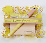 My Heart Is Glad Notepad and Pen Gift Set