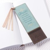 Blessed Is She Who Has Believed, Lux Leather Pagemarker
