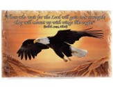 Eagles Wings Stone Plaque