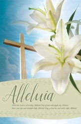 Christ the Lord is Risen Today Bulletins, 100